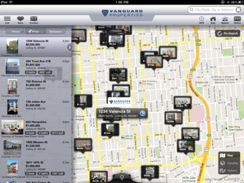 Vanguard Properties Mobile for iPad