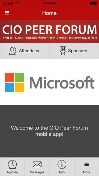 CIO Peer Forum 2014