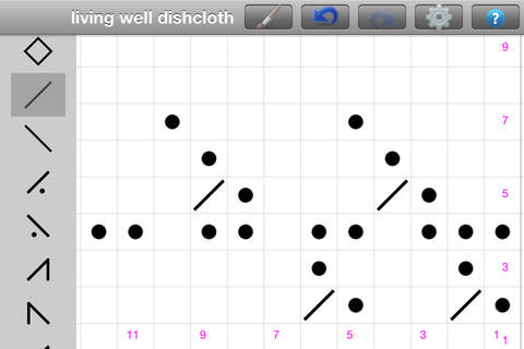 Knitting Pattern Chart Creator : Knitting Chart Maker on the App Store