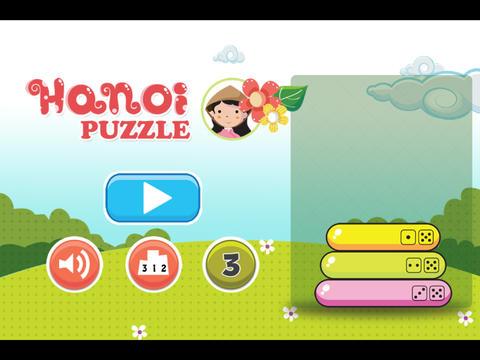 Hanoi Puzzle iPad Screenshot 2