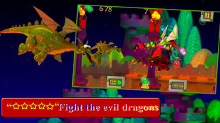 A Battle of the War Dragons in Magical Kingdom