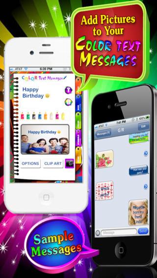 Color Text Messages Lite