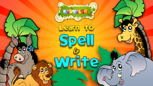 Learn to Spell Write : Animals