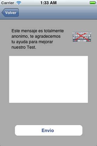 Test LITE General de Oposiciones iPhone Screenshot 4