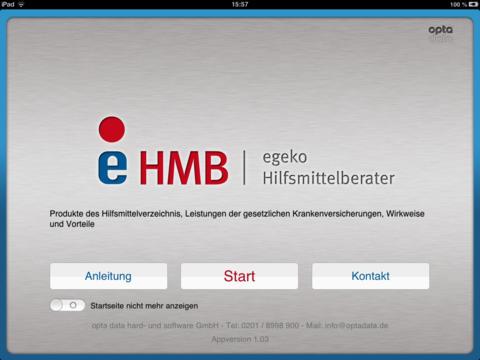 eHMB - egeko Hilfsmittelberater
