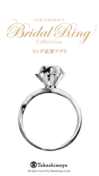 TAKASHIMAYA Bridal Anniversary Ring Collection
