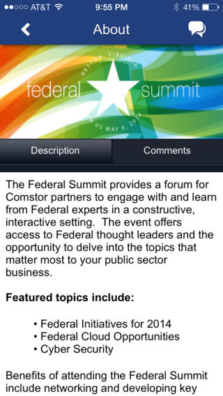 Comstor Federal Summit 2014
