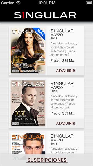 Revista S1ngular