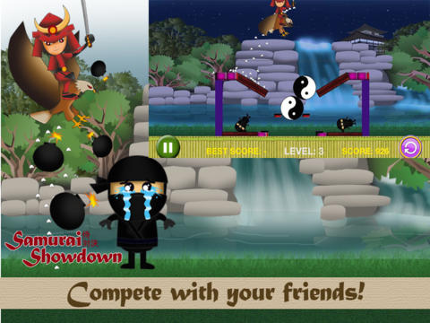 玩免費遊戲APP|下載Samurai Showdown FREE - Ninja Dojo Under Siege Physics Game app不用錢|硬是要APP