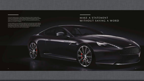 Aston Martin - Official Brochure Collection