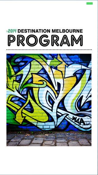 Destination Melbourne Program 2014