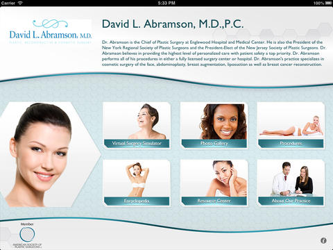 Cosmetic Reconstructive Plastic Surgery David L. Abramson M.D.