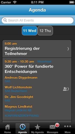 SAS Forum 2013 in Mannheim