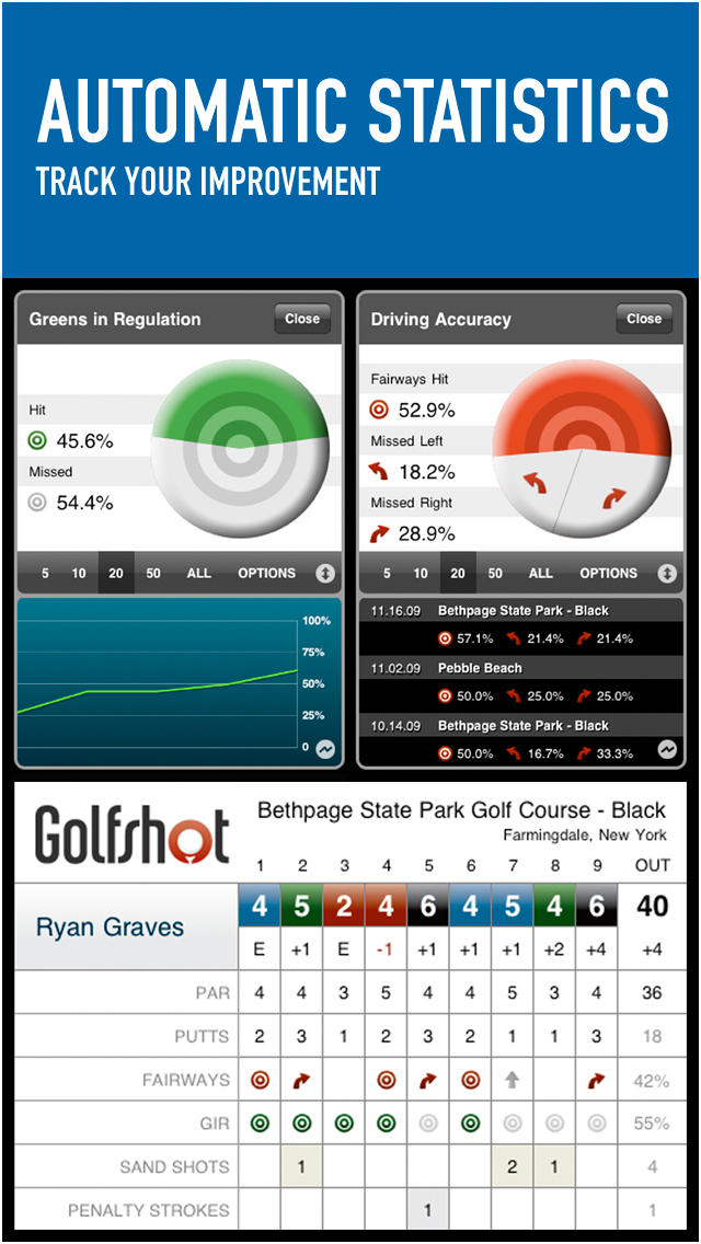 Golfshot Classic  Screenshot
