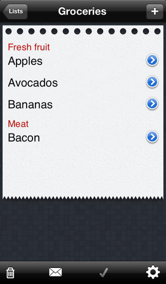 Awesome Shopping List