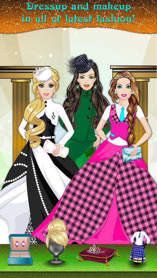 HighScool Princess Makeover Spa dressup Free Girls Games.