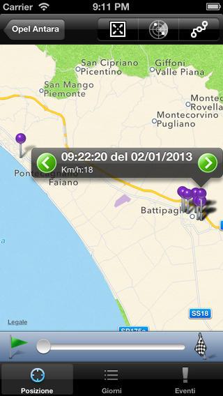 Codesat iPhone Screenshot 3