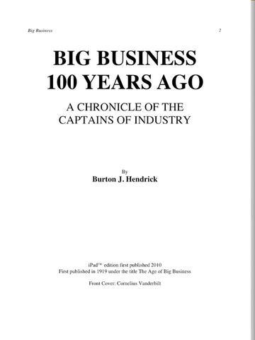Big Business for iPad