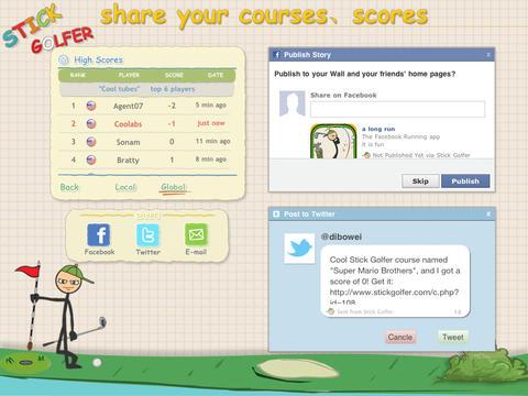 玩免費遊戲APP|下載Stick Golfer HD app不用錢|硬是要APP