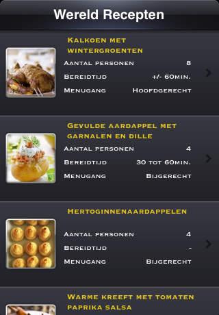 Mijn Chef - Wereld Recepten