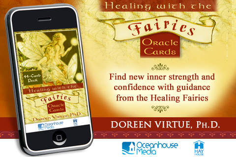 Healing with the Fairies Oracle Cards - Doreen Virtue, Ph.D.