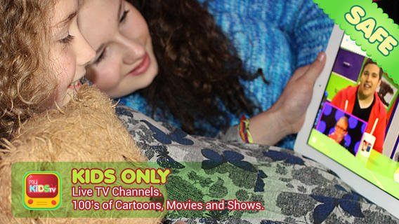 My Kids TV - Safe TV Cartoons Show Movies for Children