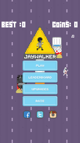 Jaywalker - 2D Endless Arcade Runner
