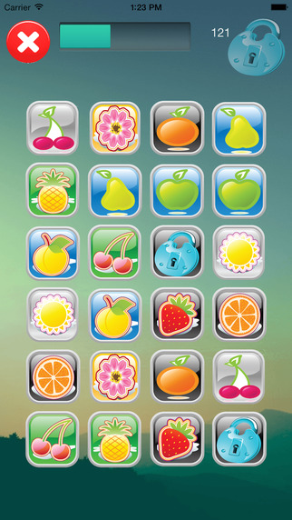Fruity Challenge - Find Match the Fruits