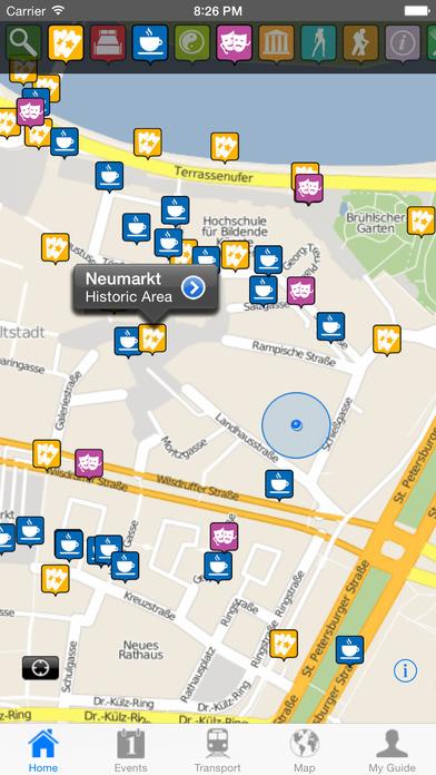 Dresden Travel Guide Offline iPhone Screenshot 2