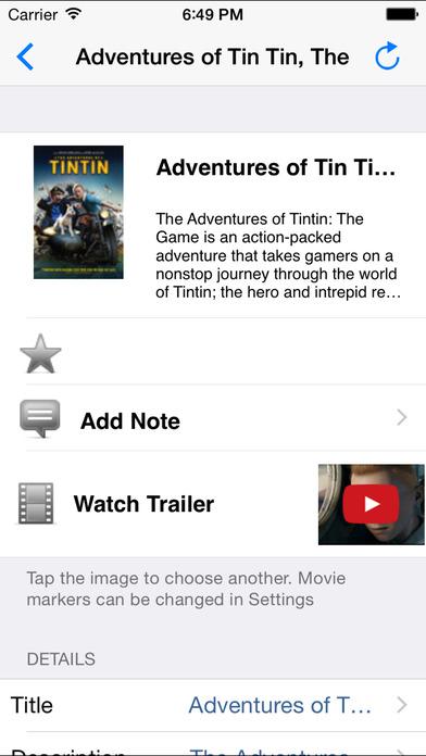 MovieScanner FREE iPhone Screenshot 2