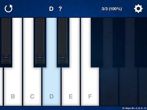 Melody Ear Training iPad Screenshot 1