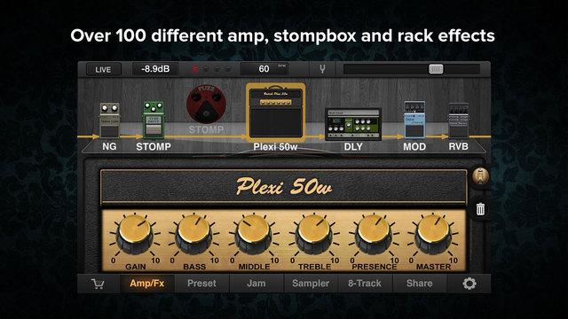 JamUp Pro Screenshot