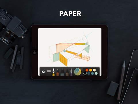 《艺术创作 作画:Paper by FiftyThree - 内购全免! [iPad]》