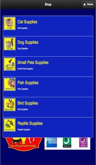 Pet Supplies App