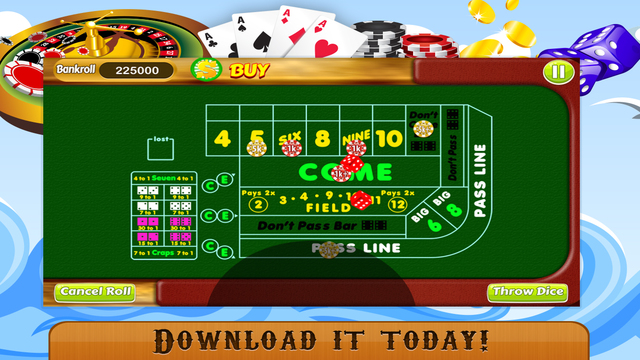 best online craps casino book spiele