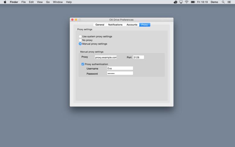 OX Drive Screenshot - 4