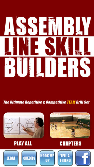 Assembly Line Skill Builders: Team Drills Skills - With Coach Jamie Angeli - Full Court Basketball T