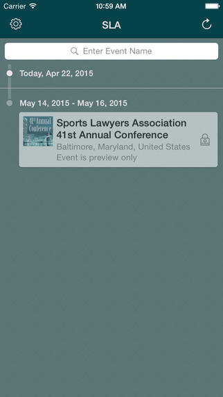 SLA Annual Conference 2015