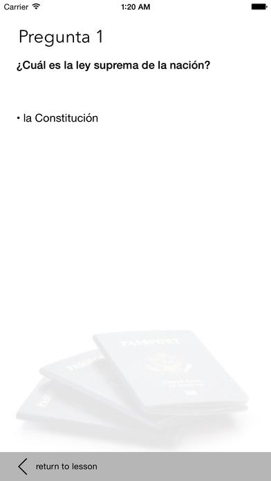 US Citizenship Test Guide iPhone Screenshot 5
