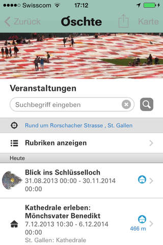 Oschte – Region Appenzell St.Gallen Bodensee screenshot 4