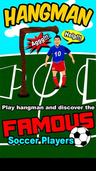 HangMan Famous Soccer Players