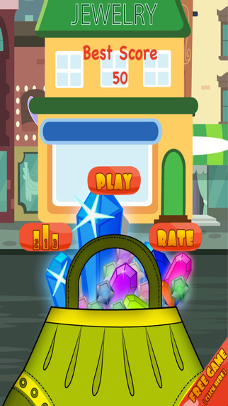 A Catch Collect The Crystal Stone Mania– Dont Let the Precious Diamond Fall Break Strategy Game