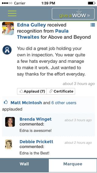 Give a Wow! iPhone Screenshot 5