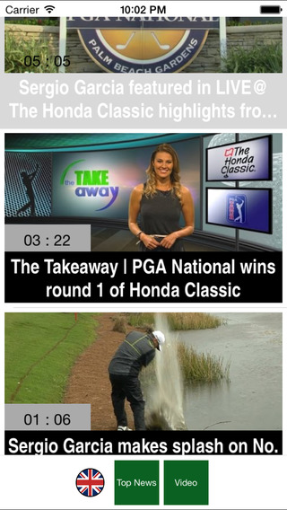 Golf Insider - Live News Videos Results Channel for the PGA Tour the masters US Open the British Ope