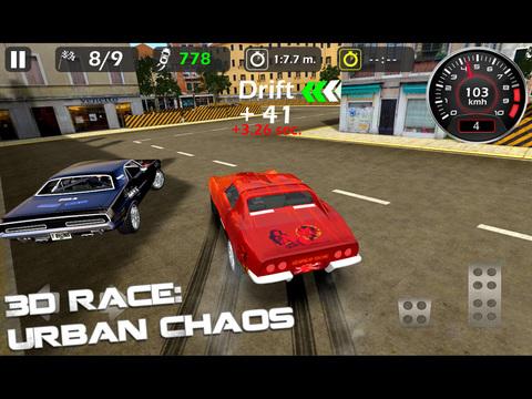 Скачать игру 3d Race : Urban Chaos