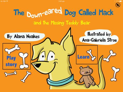 Mack the Dog Early Language Development 2