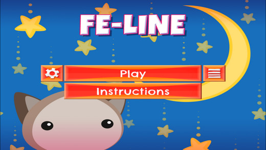 Fe-Line - PRO - Swipe Rows And Match Cute Fury Cats Arcade Puzzle Game