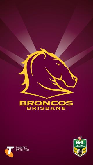 Official 2015 Brisbane Broncos