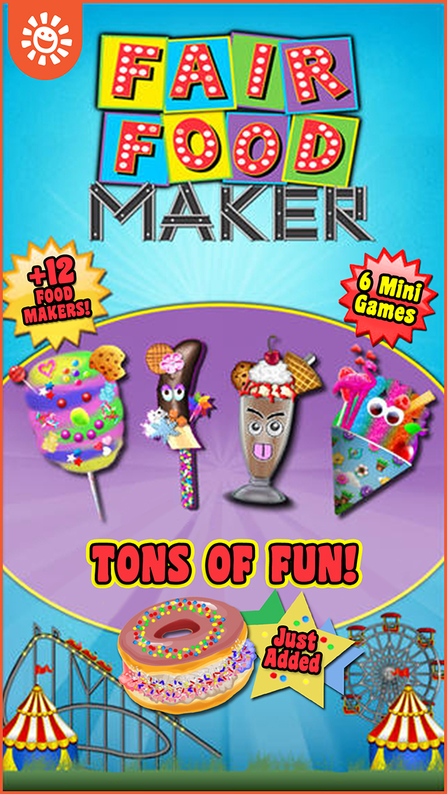 Fair Food Maker Game – Make Fair Foods and Play Free Carnival Games