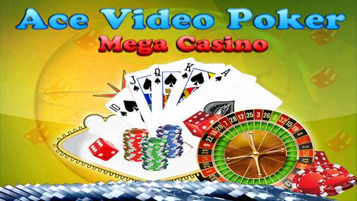 Ace Video Poker Mega World Casino Version - Bet Win Big